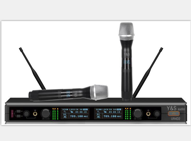 Y&S AUDIO UR4D2/G1 无线手持话筒
