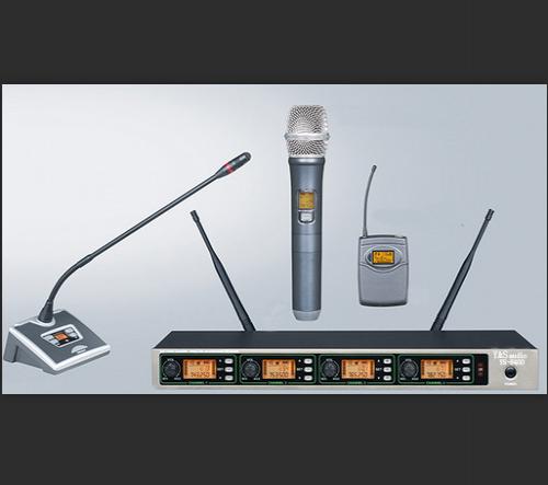 Y&SAUDIO 8400/410L无线手持会议话筒