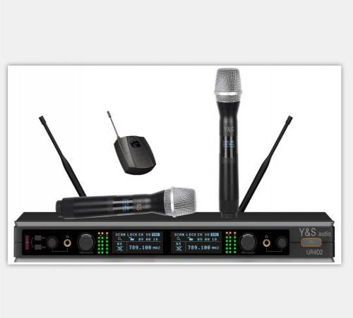 Y&S AUDIO UR4D2/G3 无线头戴领夹话筒